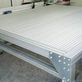 стол алюминиевый